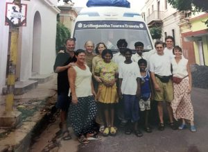 Renuka learned to speak English by conversing with his passengers.