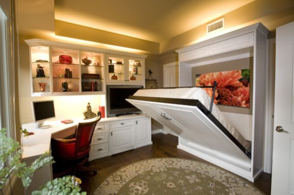 fold-down-bed-small-space