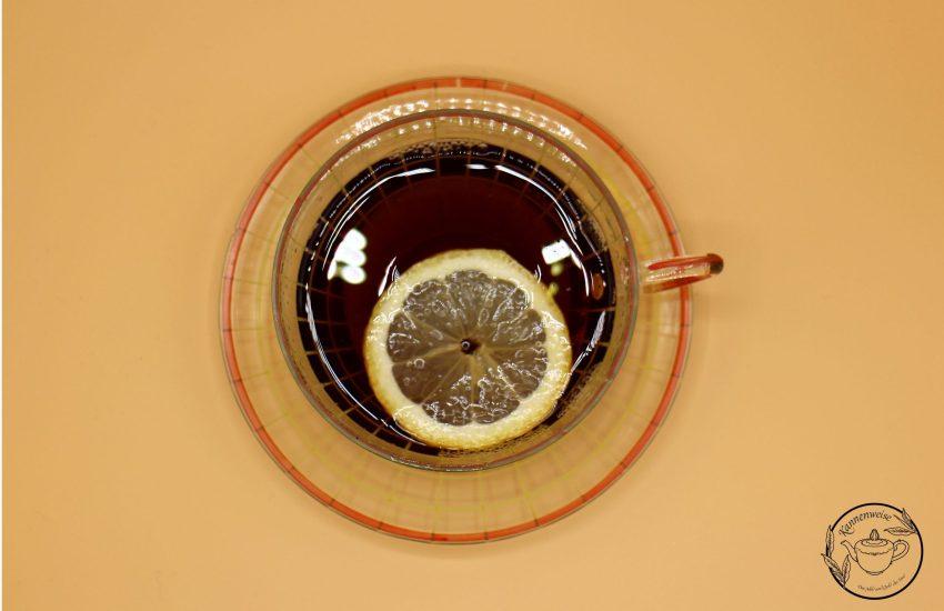 Teetasse Zitrone
