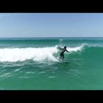 ライド写真 福井県敦賀市 日本海サーフィンをドローンで空撮 滋賀県長浜市のドローン空撮滋賀カノアドローンラボ