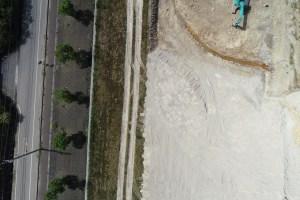 福井県で工事現場空撮 滋賀県長浜市のドローン空撮滋賀カノアドローンラボ