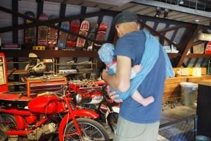 ラコリーナ近江八幡とバイクとカノアカーレンタル