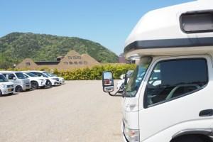 ラコリーナ近江八幡とキャンピングカーレンタル カノアカーレンタル