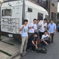 キャンピングカーレンタル滋賀 お客様集合写真