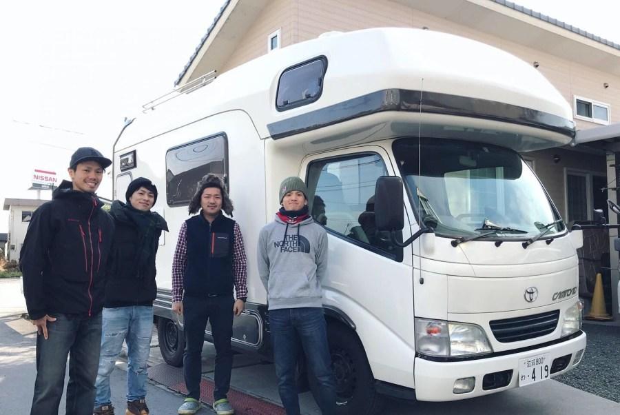 キャンピングカーで車中泊旅行 十二坊オートキャンプ場 キャンピングカーレンタル滋賀