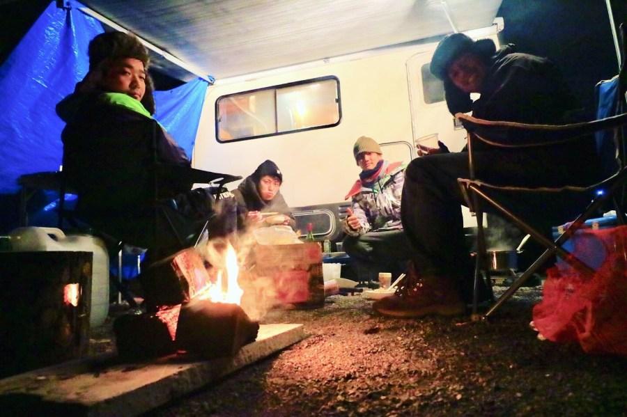キャンピングカーでBBQ 十二坊オートキャンプ場 キャンピングカーレンタル滋賀