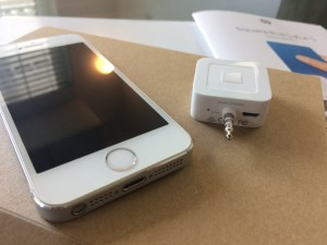 iPhone5sとSquare