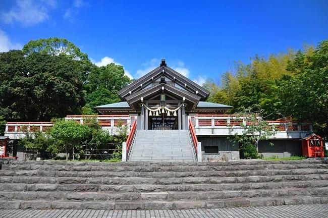 伊豆高原の愛犬と一緒に初詣ができる神祇大社