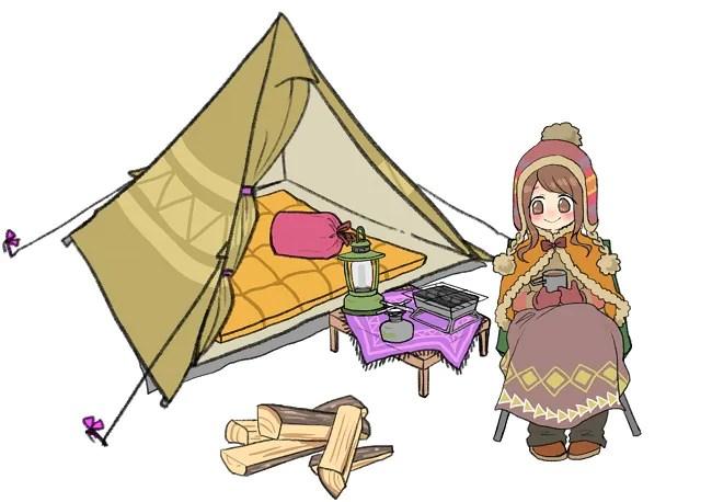 冬のキャンプギア