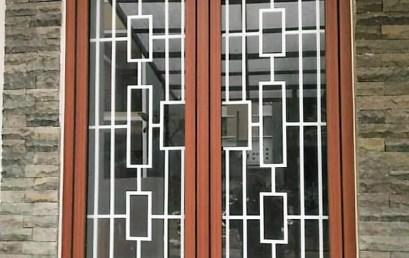 Tralis jendela Minimalis Alam Sutera Tangerang