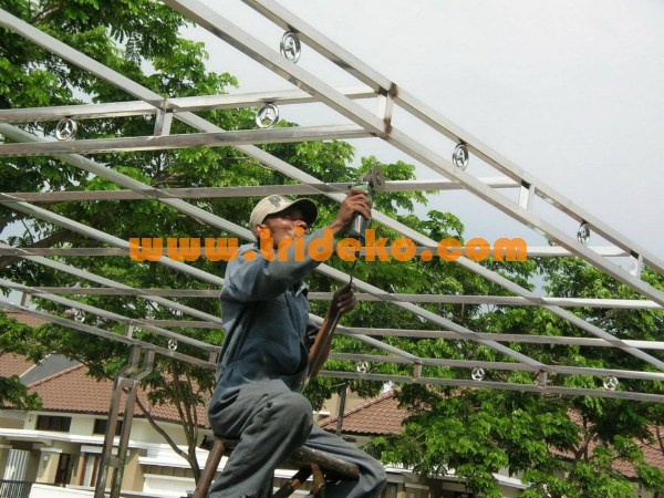 Canopy stainless steel 1