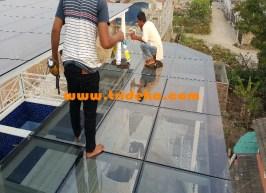 Teknik Pemasangan Atap Kaca