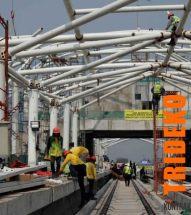Proyek Halte LRT Rawamangun - Kelapa Gading