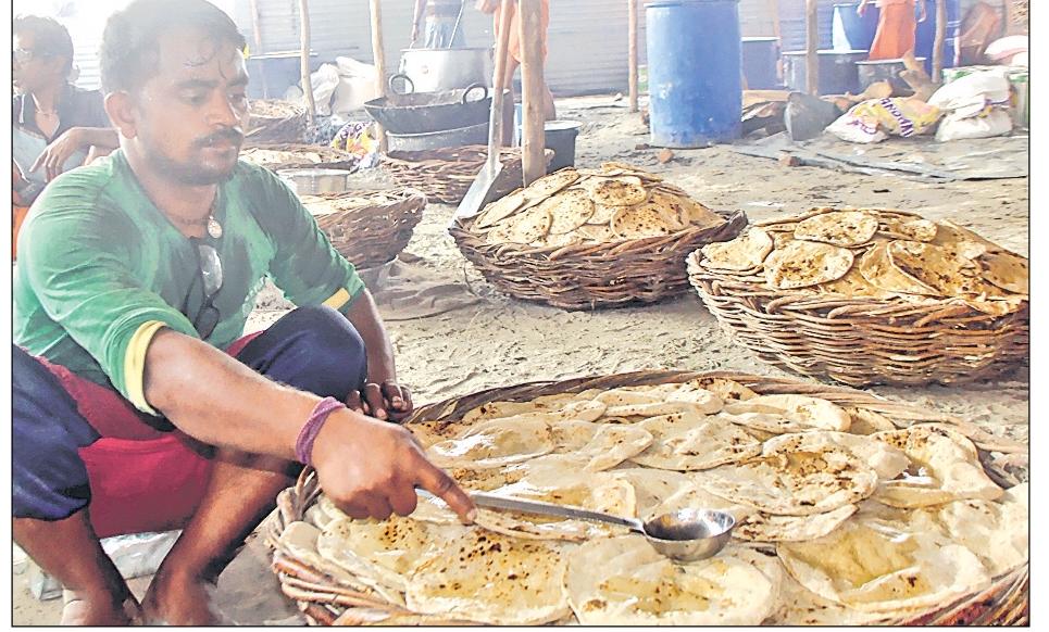 माघी पूर्णिमा पर गंगा बैराज पर श्री कोटि लक्ष्मी महायज्ञ