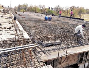 निराशा : सीओडी पुल ,मई तक पुल निर्माण का काम पूरा होते नहीं दिख रहा