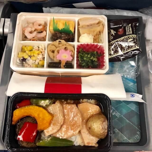 デルタ航空・機内食