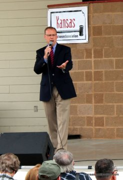 Kevin Borger, Kansas Auctioneer Contest Committee Chair.