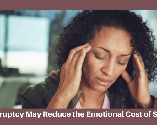 Bankruptcy Can Reduce the Emotional Costs of Stress