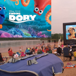 Silver Screen on the Sand at Longview Lake Beach