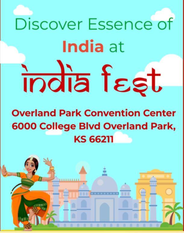 Kansas City India Fest flyer