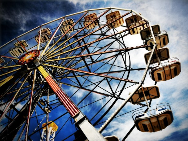 De Soto Days Festival - ferris wheel