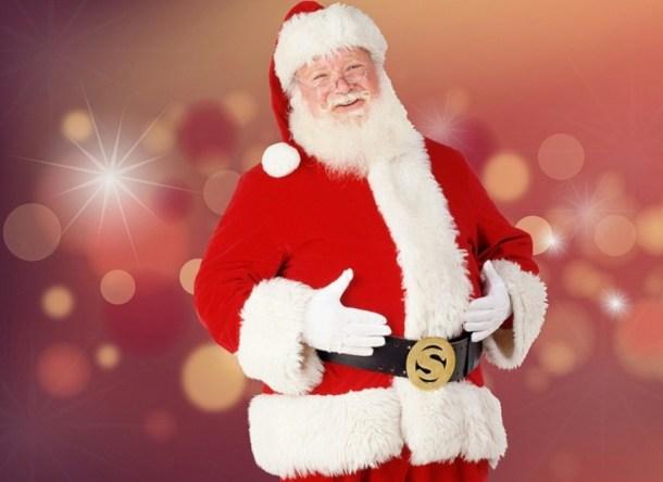 Visits and Photos with Santa in Kansas City - Santa Claus smiling