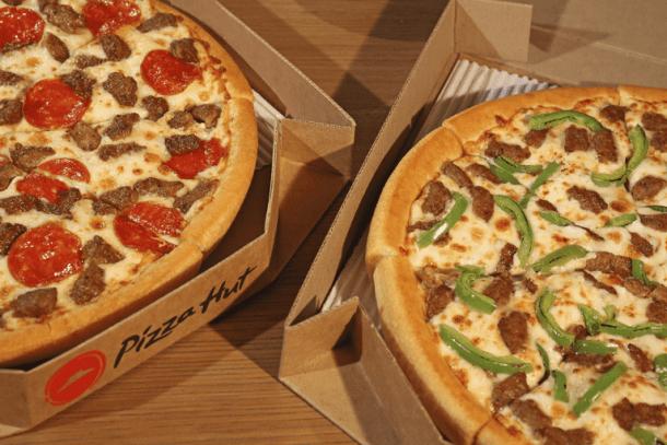 Kansas City food deals - Pizza Hut two medium pies
