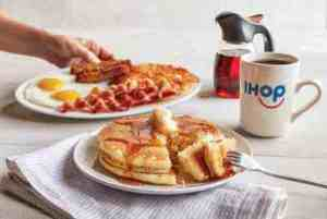 Kansas City breakfast specials - iHOP all-you-can-eat pancakes