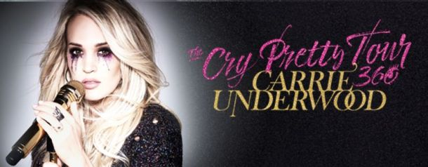 Carrie Underwood at the Sprint Center