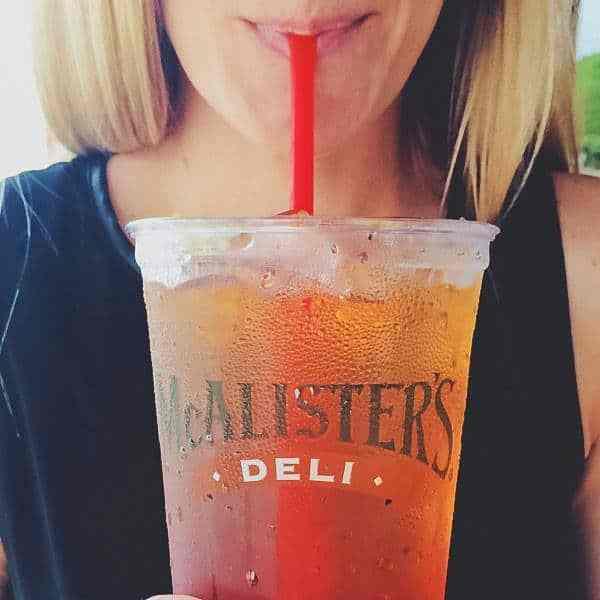 McAlister's Deli Free Tea Day