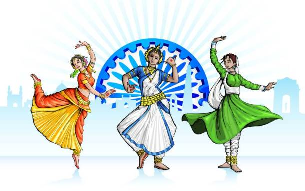 Kansas City India Fest - traditional dancers