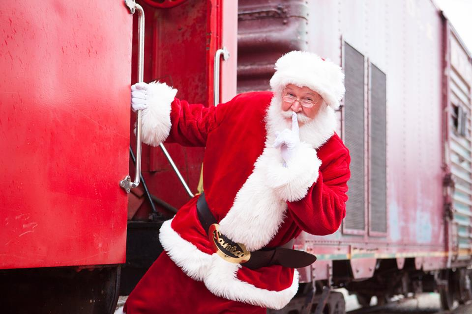 Christmas Train Ride.Tickets On Sale Now For Polar Express Santa Trains And