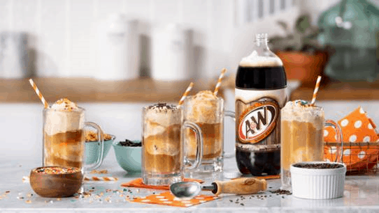 Free A&W Root Beer - root beer and ice cream supplies for making root beer floats
