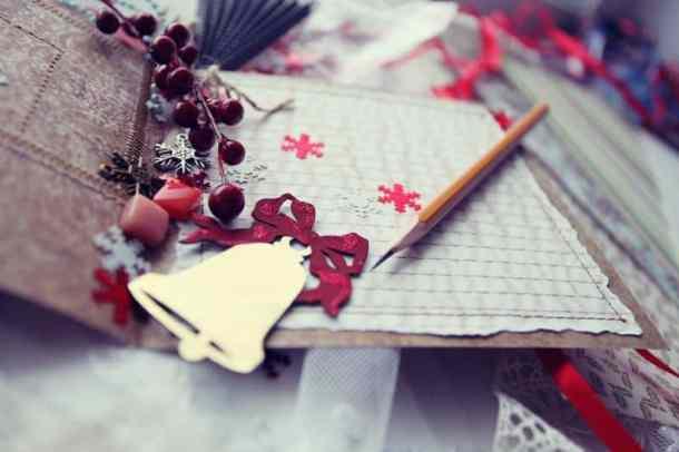 Lake Quivira Holiday Bazaar - Holiday scrapbook items