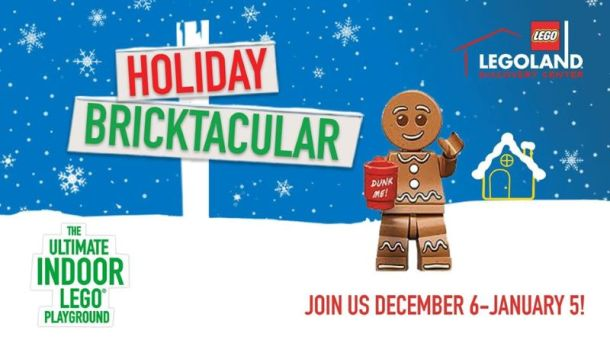 Holiday events in Kansas City - Legoland Bricktacular