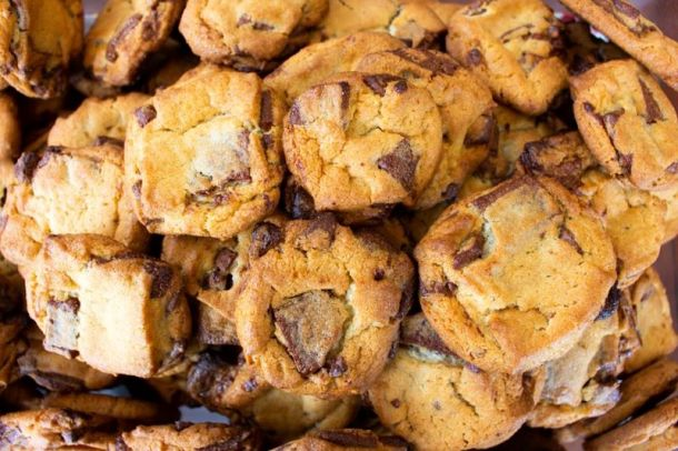 National Cookie Day Deals - stack of Penn Station cookie bites