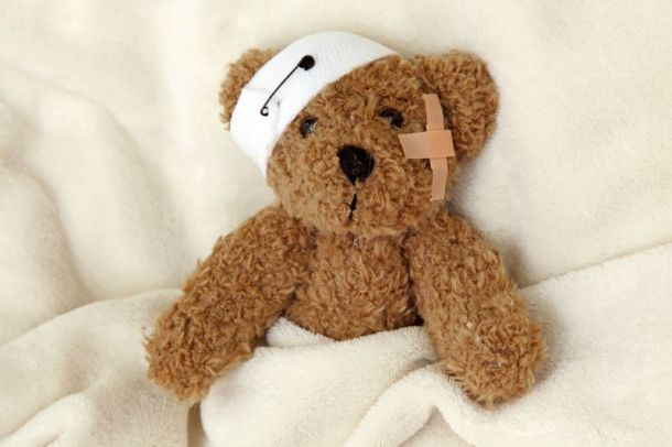 Valentine's Day events in Kansas City - bandaged teddy bear