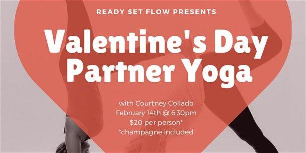 Valentine's Day date ideas in Kansas City - partner yoga