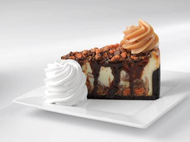 Free cheesecake from Cheesecake Factory