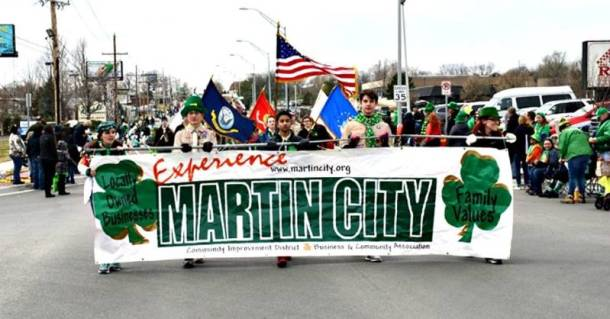 Kansas City St. Patrick's Day parades - martin City