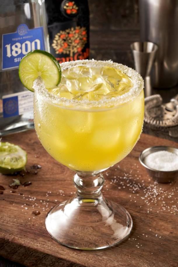 National Margarita Day deals in Kansas City - margarita in a glass