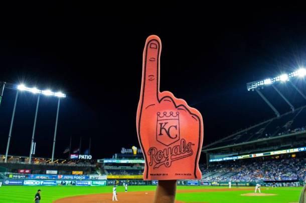 Kansas City Royals Ticket discounts - KC Royals foam finger