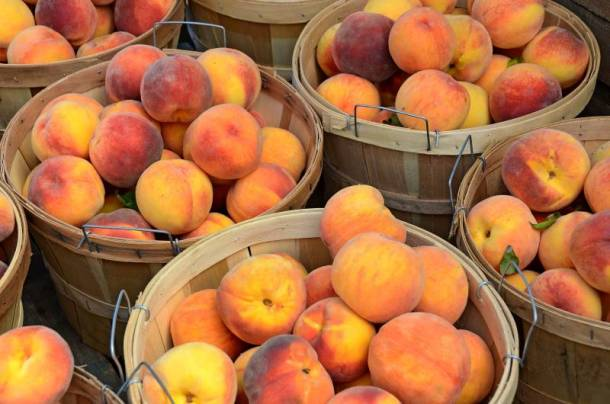 peaches in Kansas City