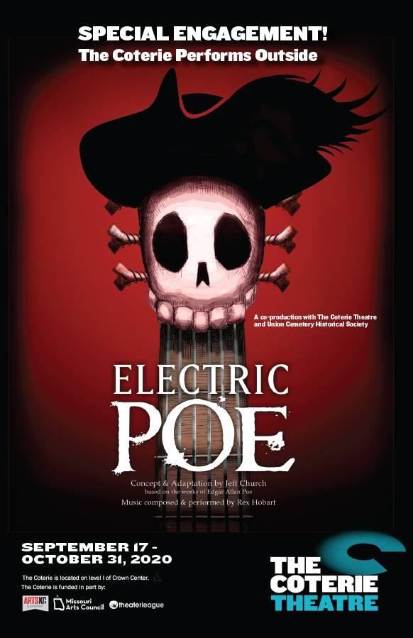 Kansas City Halloween Events - Electric Poe poster