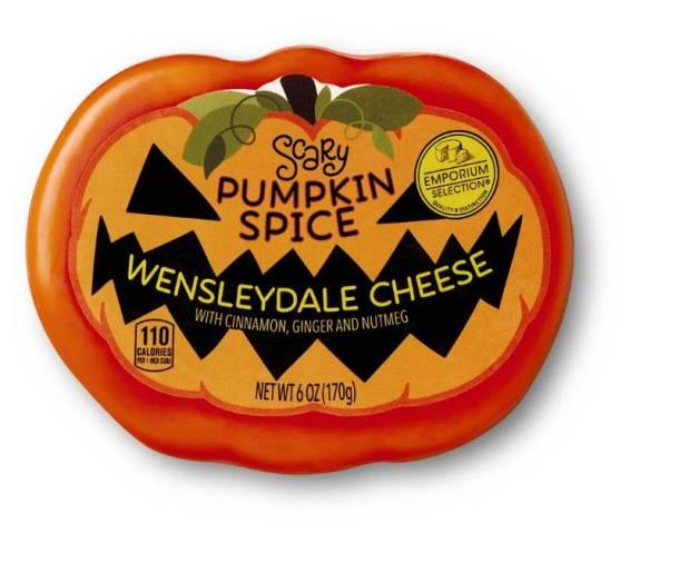 Aldi Halloween cheese