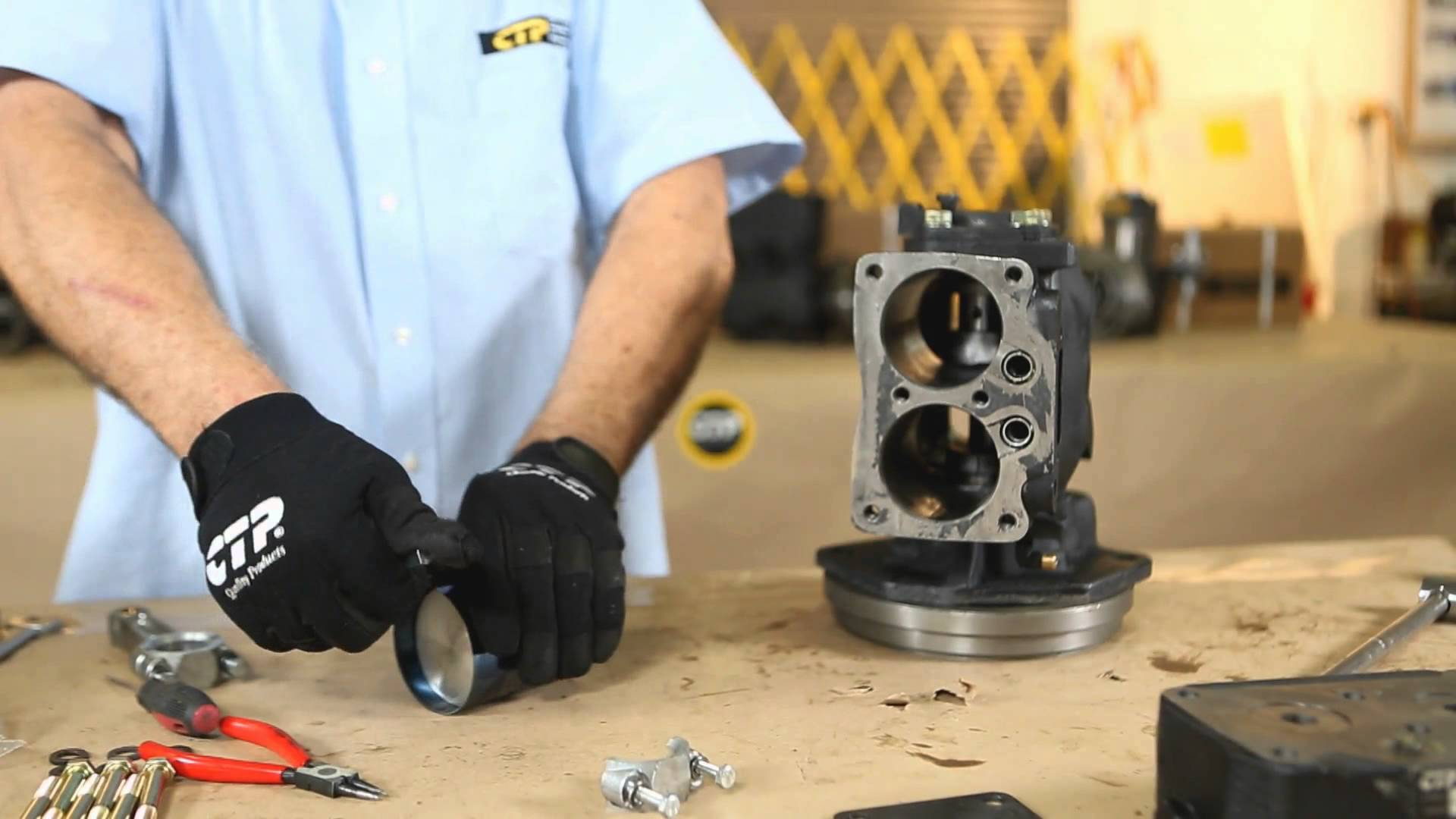 Overhaul an Air Compressor