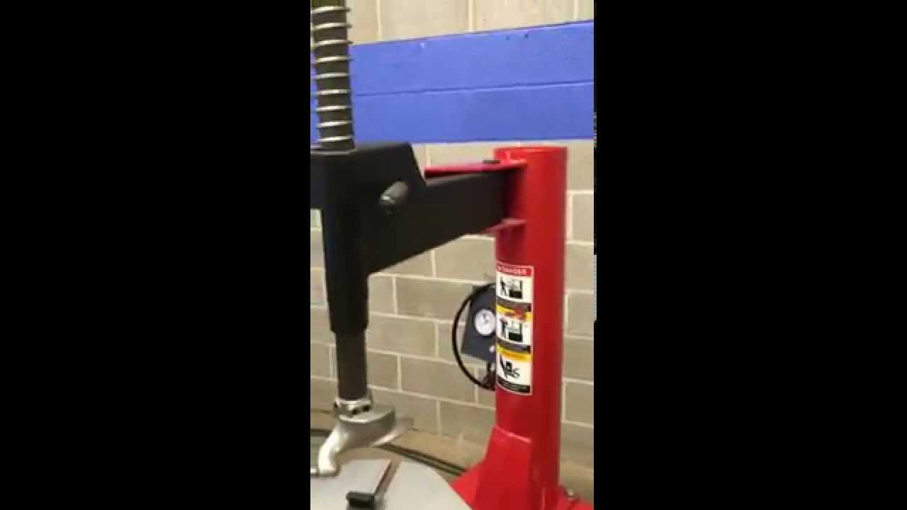 TIRE CHANGER TC-530 with bead breaker - swing arm style SEVERAL LOCATIONS