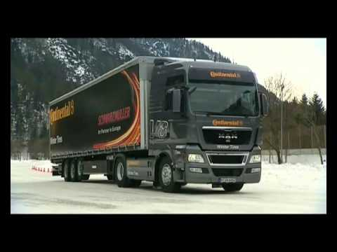 Winter Tyre Tests - Continental Truck & Commercial Tyres