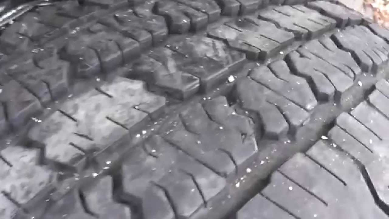 2 Big Used Truck Tires Michelin LT265 / 75 R16 Mud Snow M+S