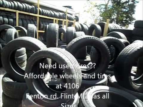 Affordable Wheels and Tires Flint MI. Used Tires $20 and up. Tire Repair and More!!!